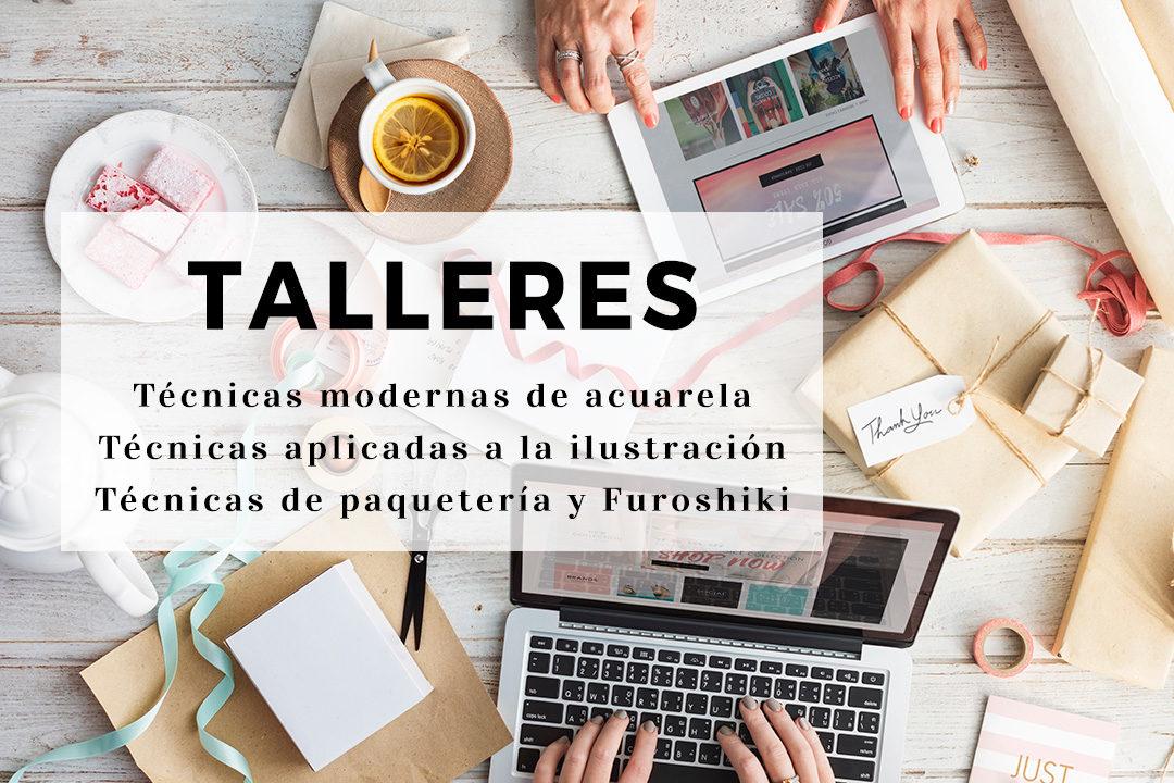 Laura Ferreres - Cursos - Taller acuarela - lauraferreres.com