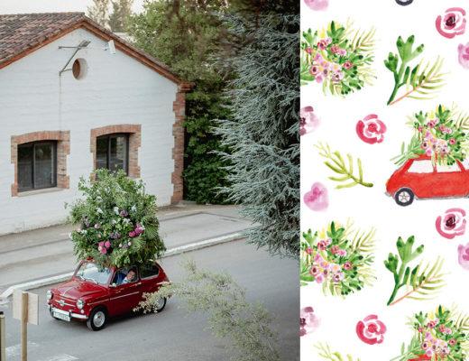 Laura Ferreres - Papelería boda - Ilustración - lauraferreres.com